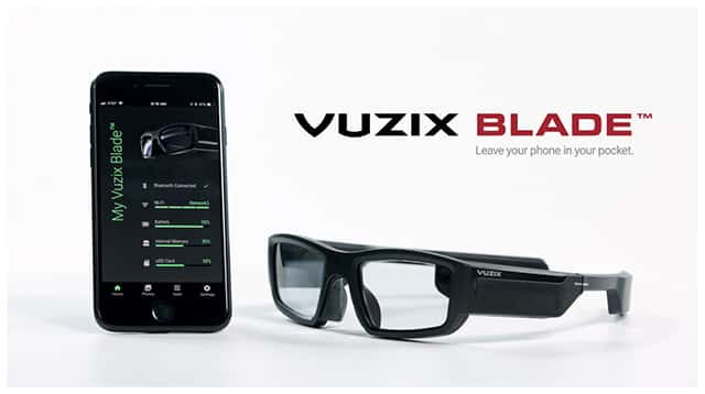 Vuzix AR Smart Glasses and Alexa Voice Platform