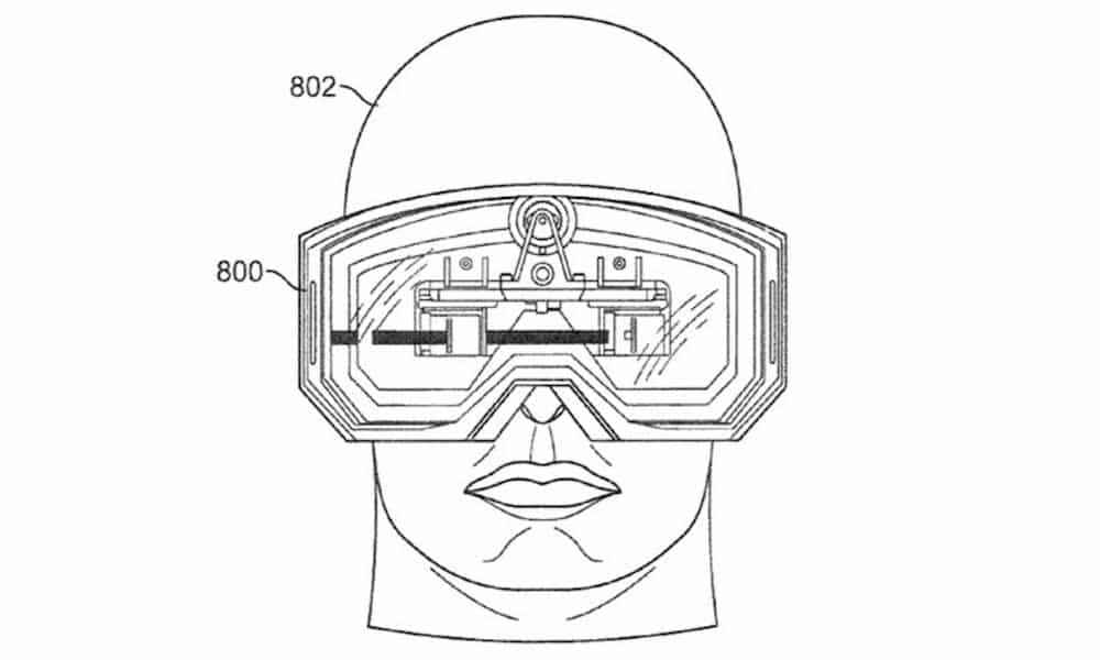 Apple's Virtual Reality patent