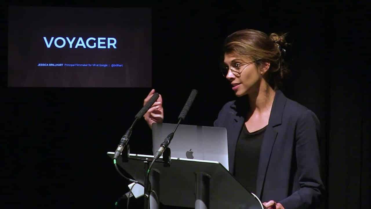 VR video keynote - Jessica Brillhart