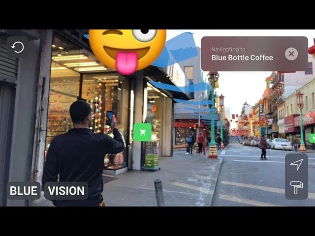 Blue Vision Labs Collaborative AR