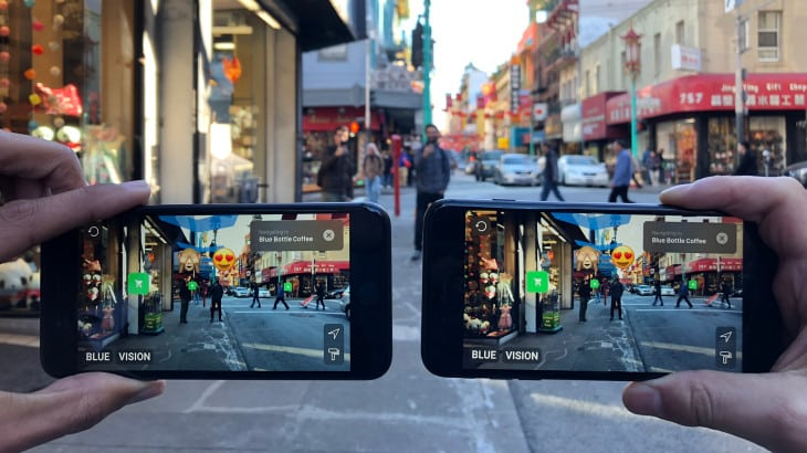 Collaborative Augmented Reality Experience Social