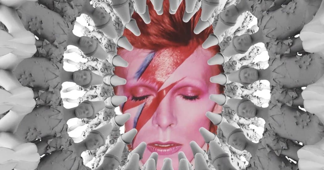 NY Times David Bowie Costumes in AR