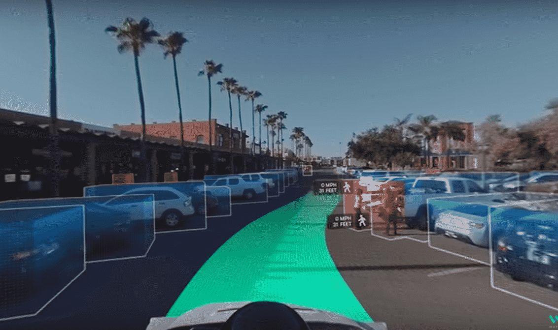 VR 360 Experience of the self-driving car