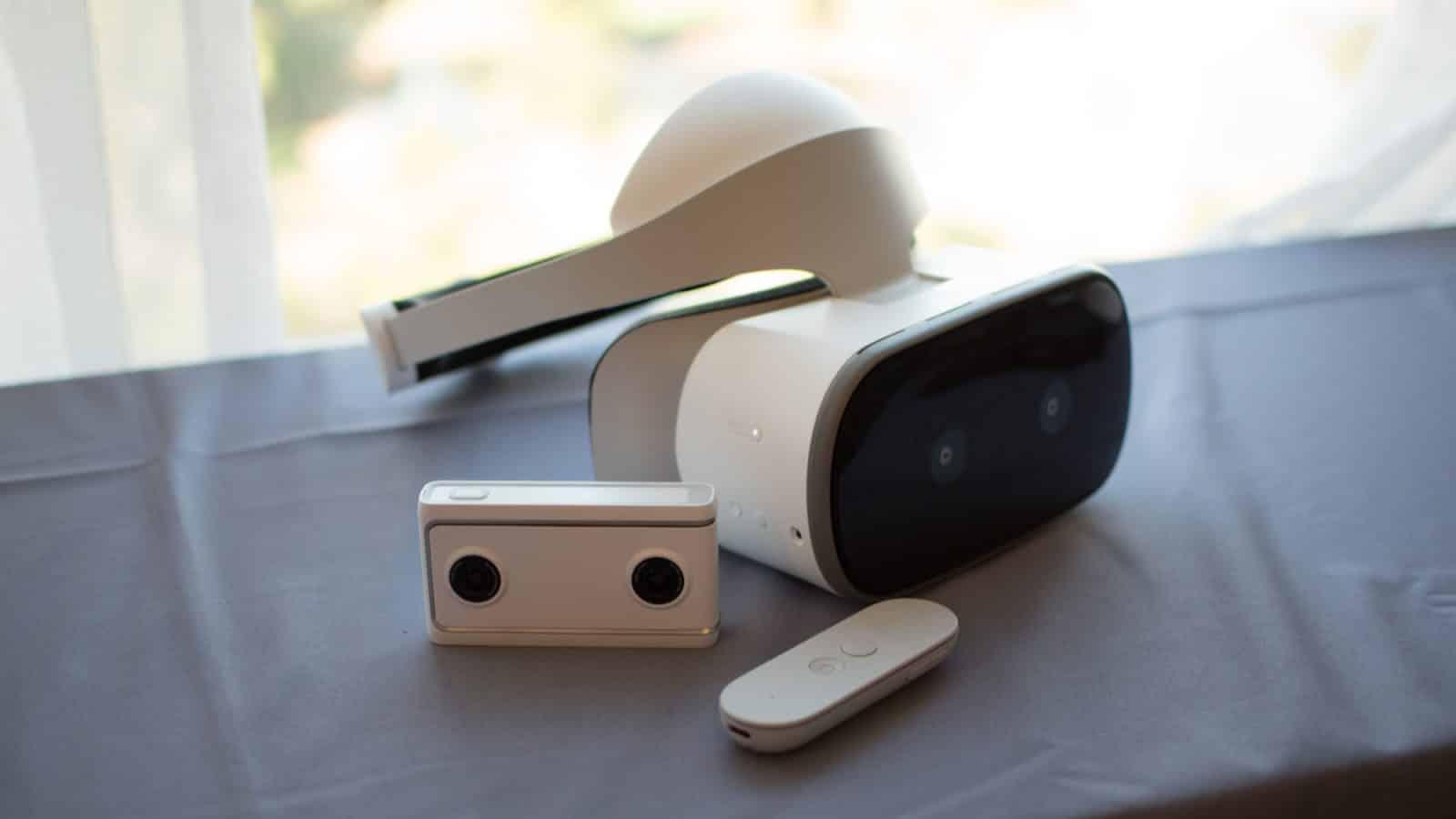 Lenovo Google new Mirage VR headset