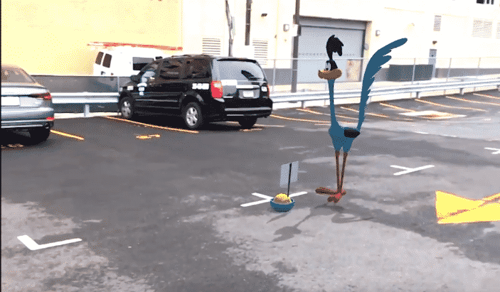 AR Experiment Cartoon Characters