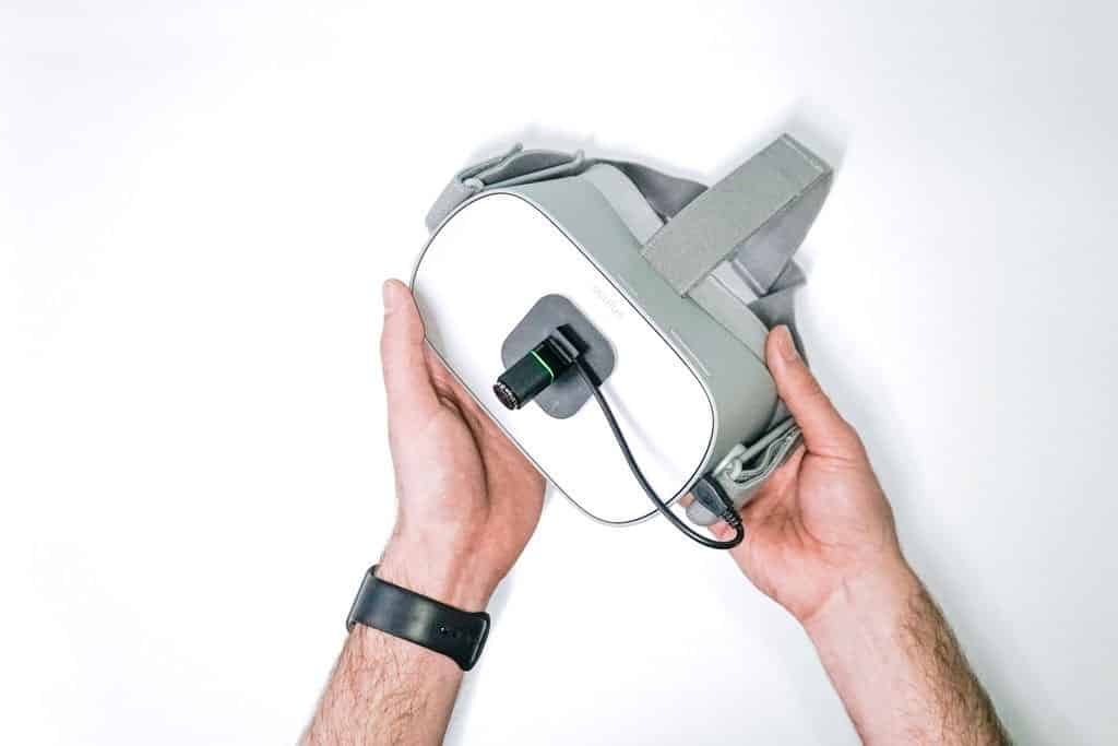 Oculus Go VR headset with 6DOF