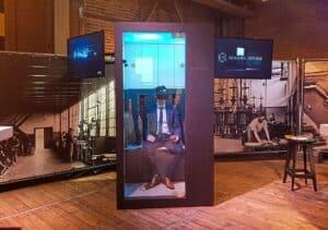 Sensation in VR - Sensory reality pod