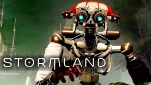 stormland new VR game Robot