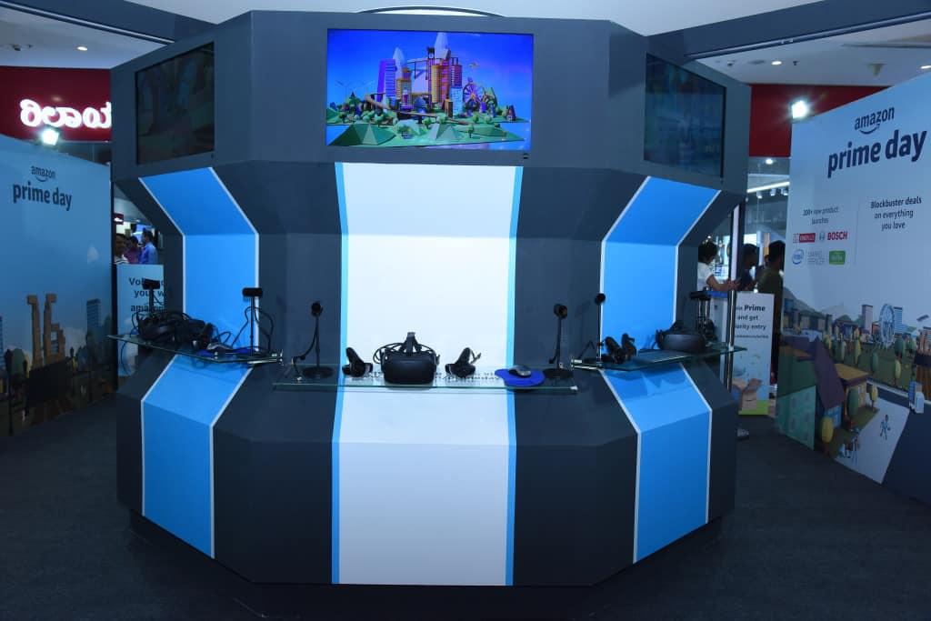 Amazon VR Kiosks