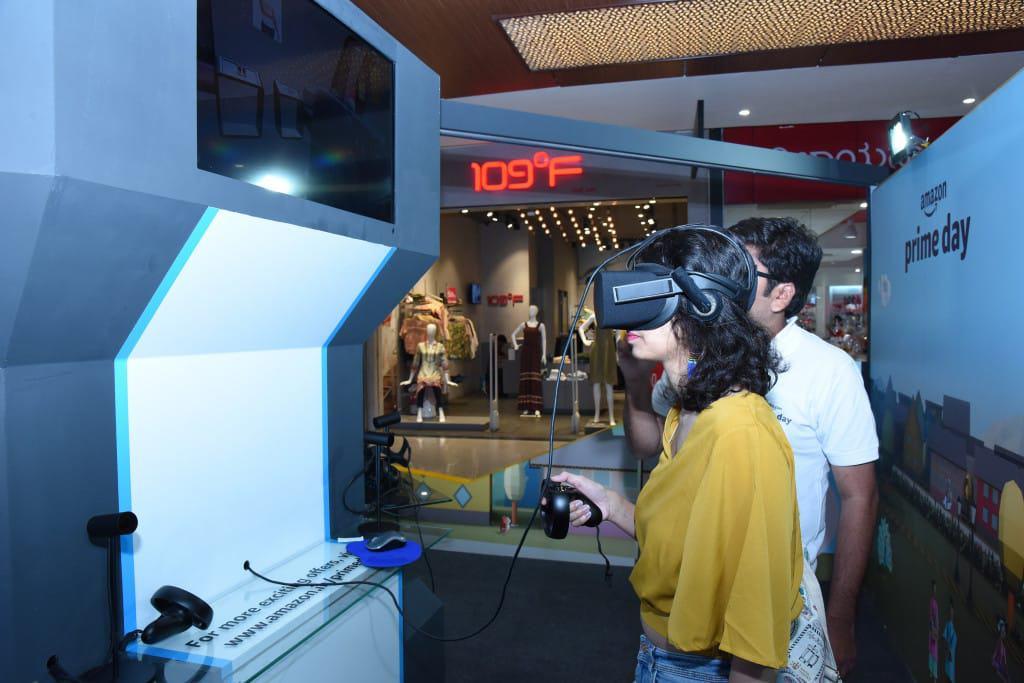 Amazon VR Kiosks in India