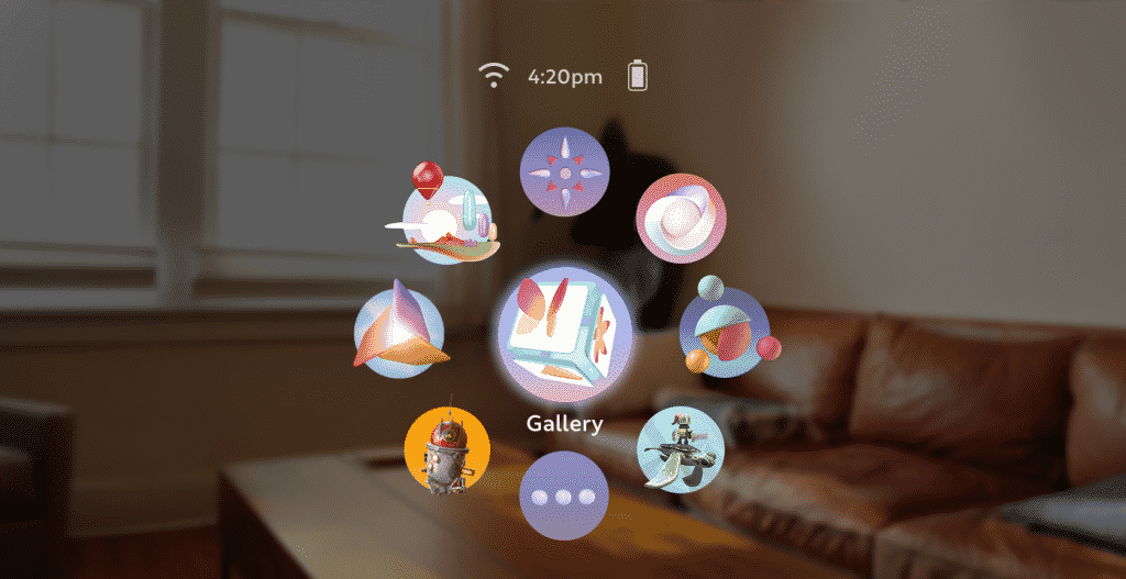Magic Leap Headset Interface