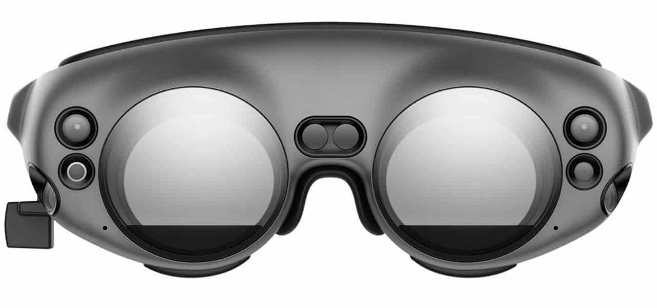 Magic Leap One circular lens frame