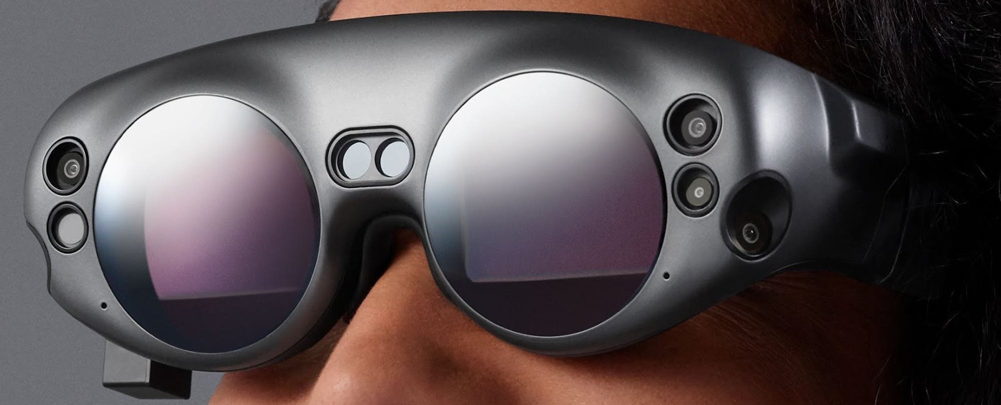 Breakthrough Mixed Reality glasses, from Magic Leap.