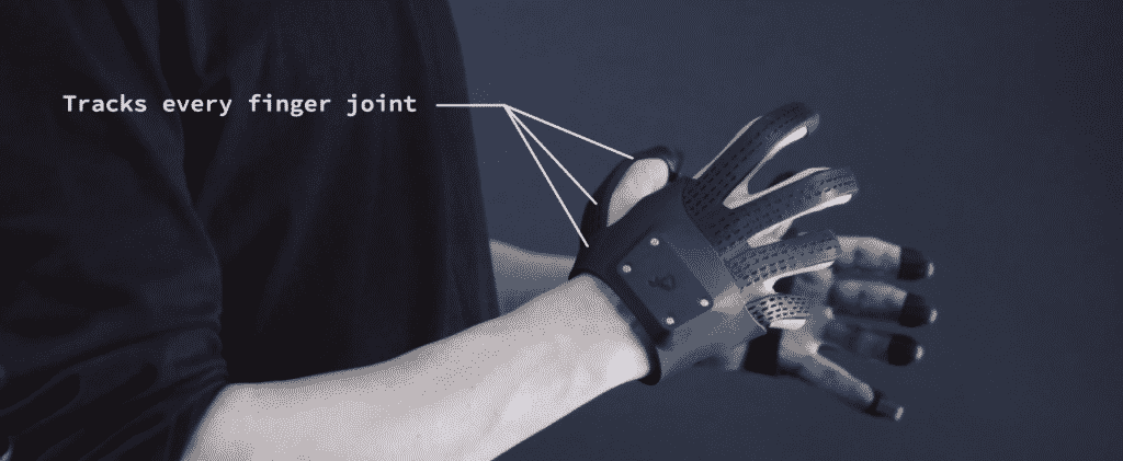 Light and thin Plexus VR Gloves