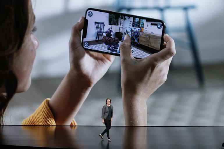 Apple AR enhancements