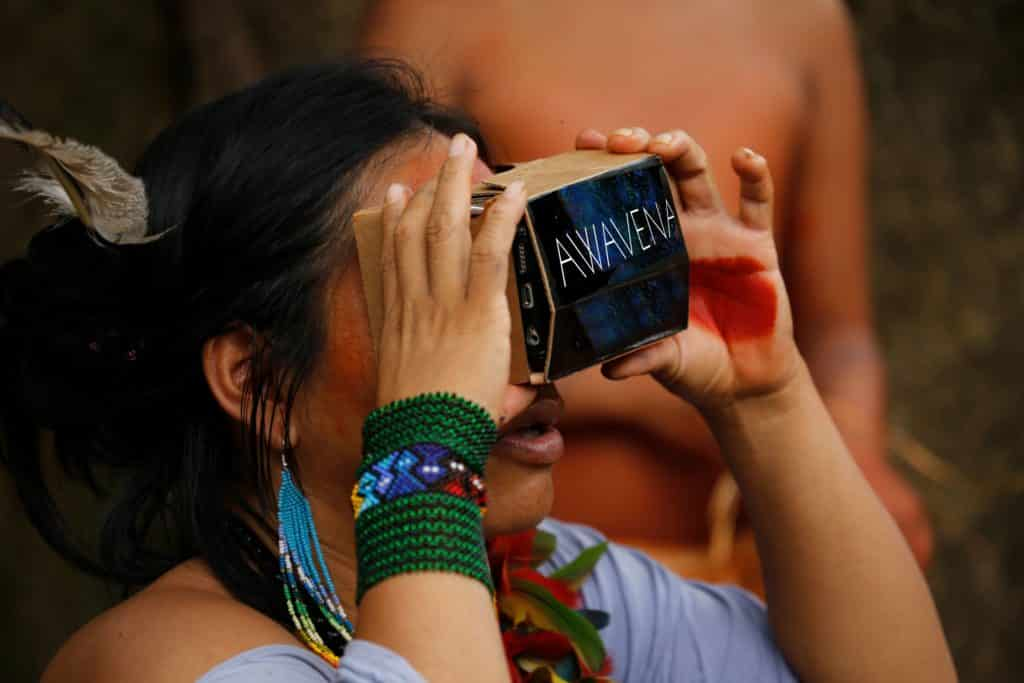 Awavena VR and aboriginal cultures