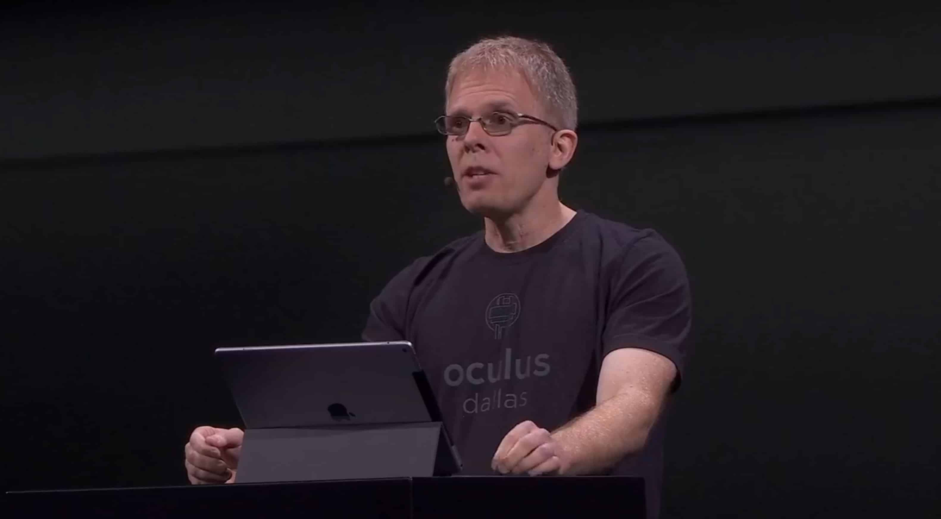 John Carmack at Oculus Connect 5