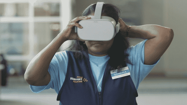 Walmart expands its VR training