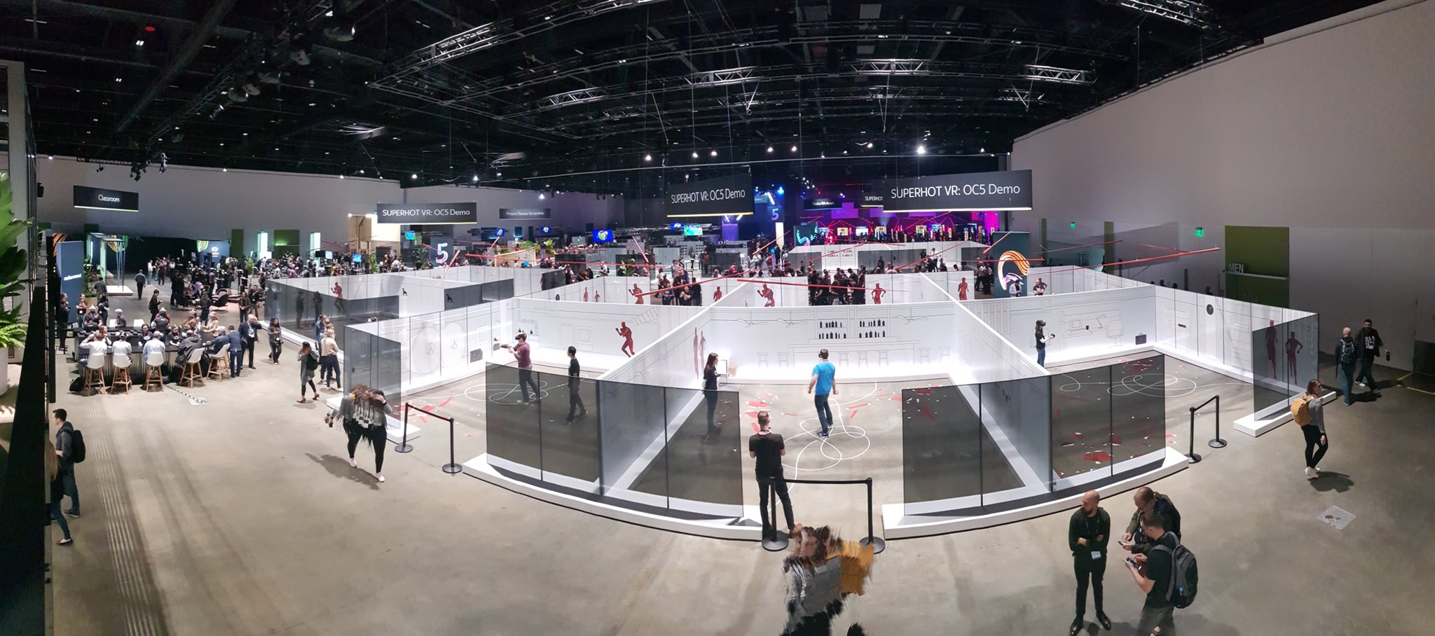 Arena Scale VR at OC5 is the future of VR