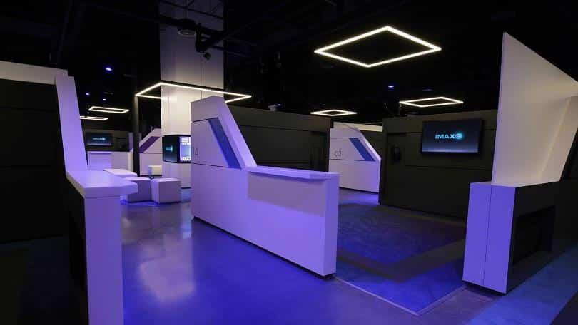 IMAX VR Pods