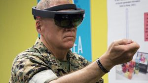 Microsoft augmented reality military contract