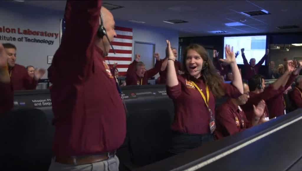 NASA 360 video JPL Control Room