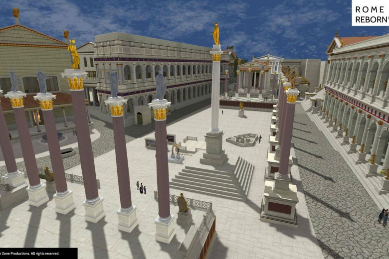 Ancient Rome through Virtual Reality