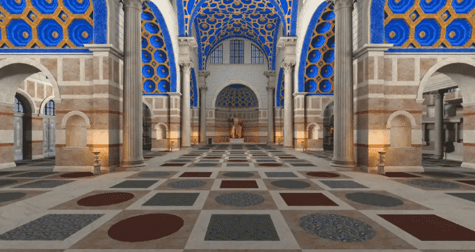 The Basilica of Maxentius - Ancient Rome in VR