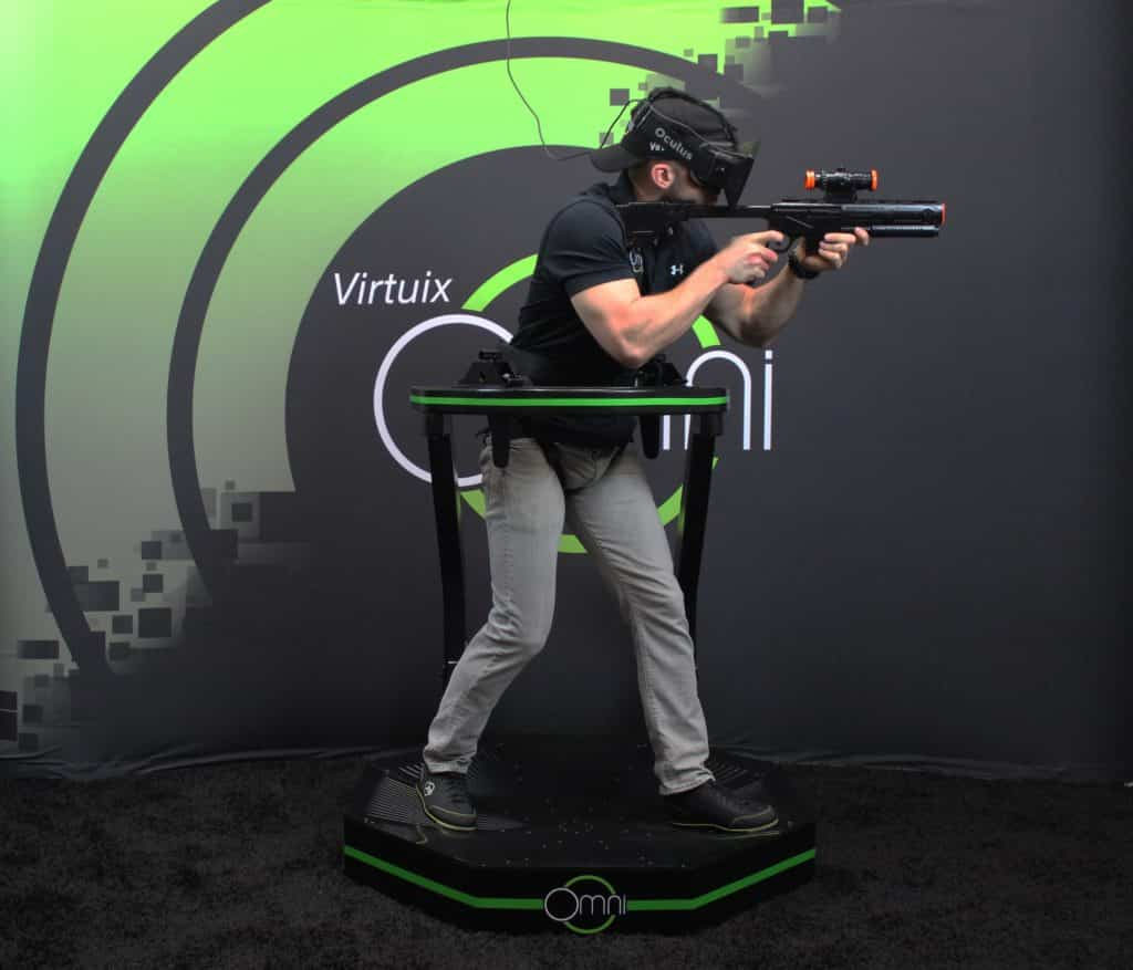 VR Treadmill by Virtuix