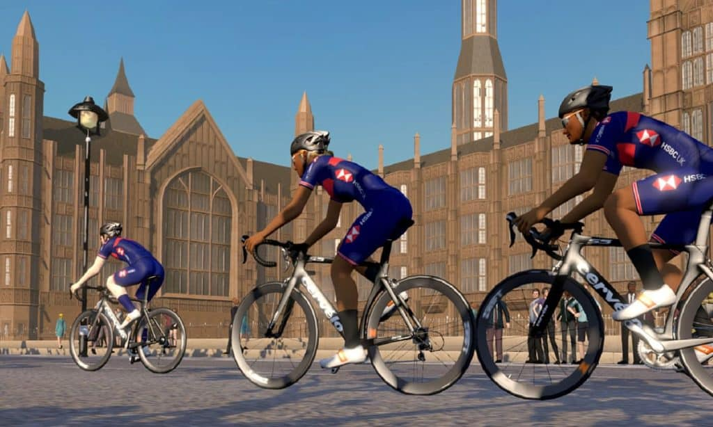 New British Cycling VR event