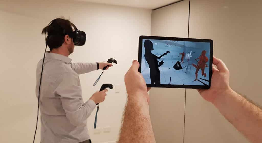 Shareable VR through an app