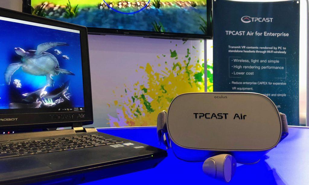 TPCAST a wireless solution for VR headsets
