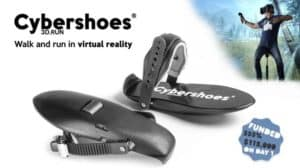 Cybershoes VR project comes to CES 2019