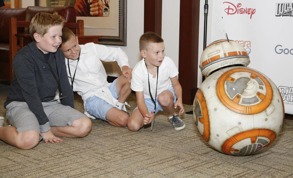 Starlight Children's Foundation Joins The Walt Disney Company, Google, Lenovo And Niagara Cares To Launch 'Starlight Xperience' On Thursday, October 11 At Lucasfilm