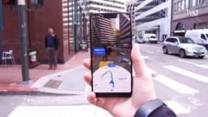 AR Google Maps finally arrives