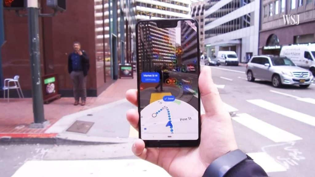 AR Google Maps finally arrives