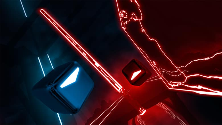 Beat Saber will be on Oculus Quest