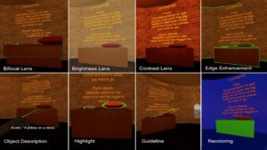 Microsoft's work on Visual Accessibility Issues in VR