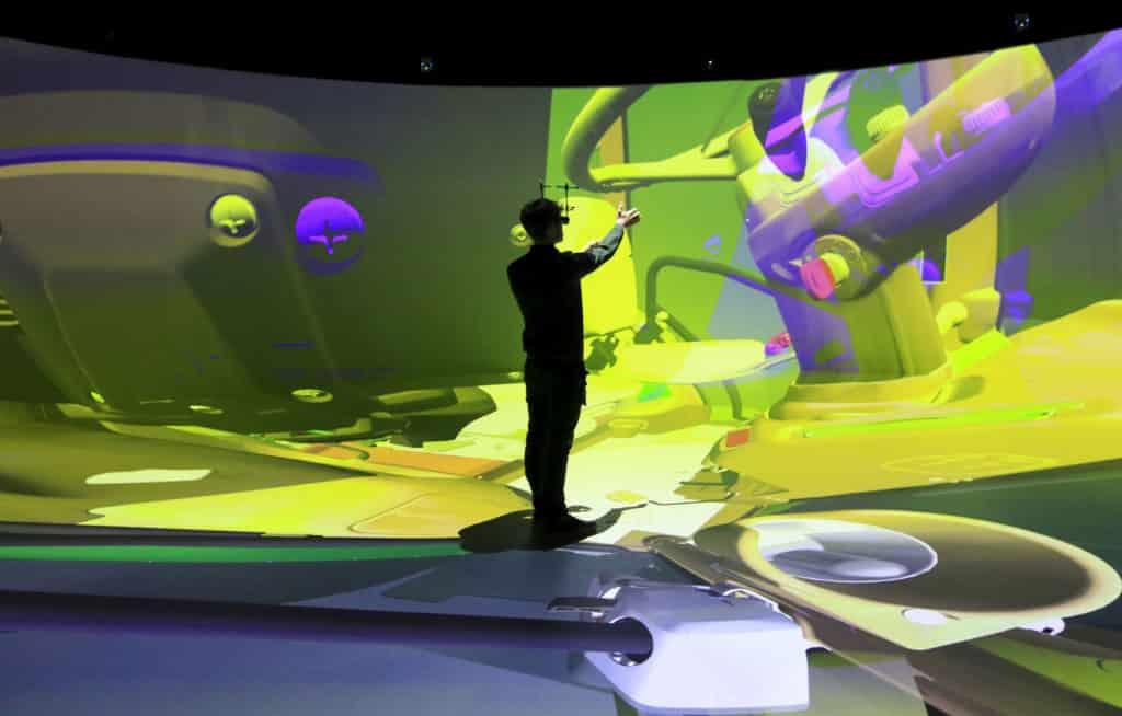 Elbedome VR lab