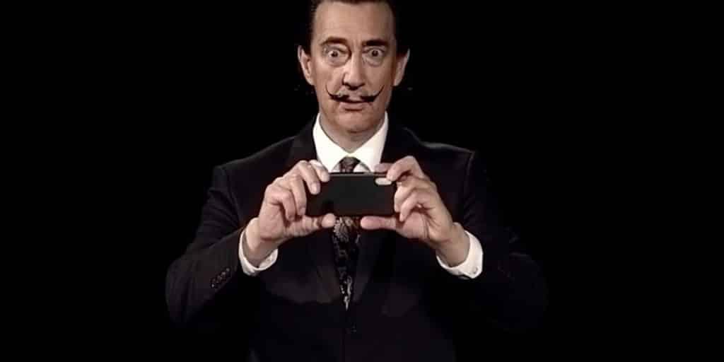 deepfake Salvador Dali takes selfies