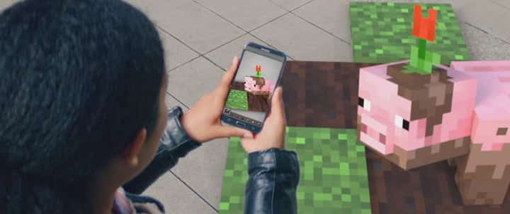 A new AR Minecraft game for your smartphone outshined the HoloLens demo fail