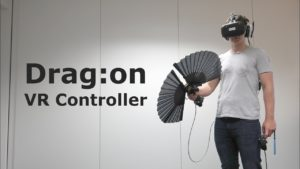 haptic feedback - the sensation of weight in VR