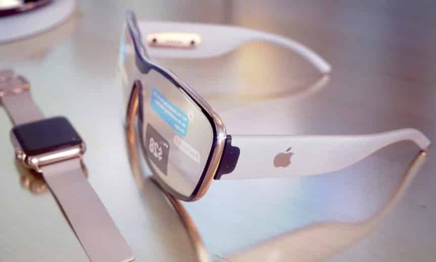 Concept for Apple's AR Glasses