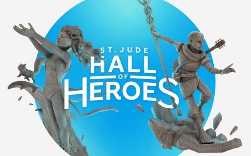 St Judes Hall of Heroes VR Memorials