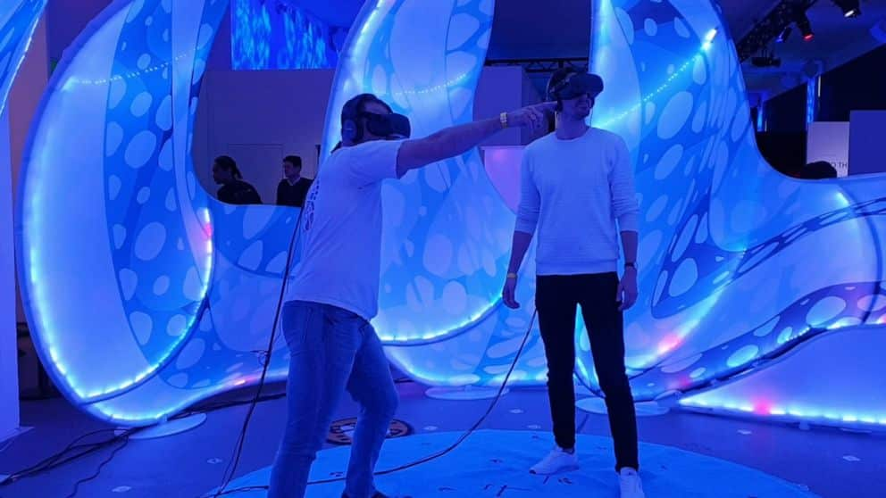 A Drop in the Ocean from Tribeca's Virtual Arcade in 2019