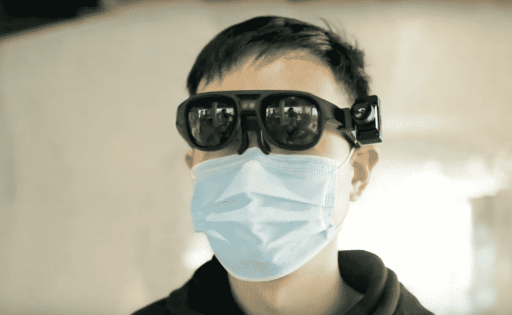 Coronavirus fighting AR glasses from Rokid