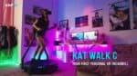 A new VR Treadmill, the Kat Walk C raises $1 million in 24 hours.