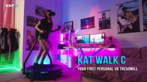 A new VR Treadmill, the Kat Walk C raises $1 million in 24 hours.