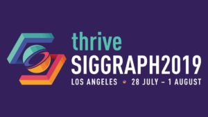 The SIGGRAPH 2019 conference is a major industry event with VR and AR playing an increasing role.