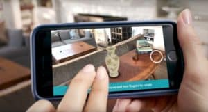 Amazon's New AR Shopping Tool let's you fill your home with virtual objects.